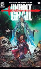 Unholy Grail #2 Cover A  Colak
