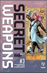 Secret Weapons #3 Most Good Exclusive Jen Broomall Variant