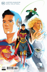 Justice League Vol 4 #58 Cover B Jen Bartel Variant (Endless Winter)