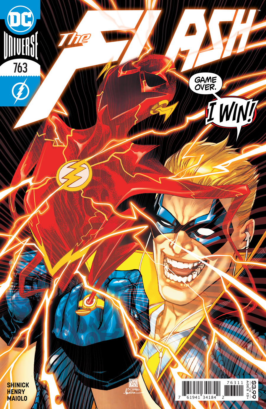 Flash Vol 1 #763 Cover A Bernard Chang