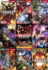 Avengers And X-Men Axis Lot 1 2 3 4 5 6 7 8 9 Set