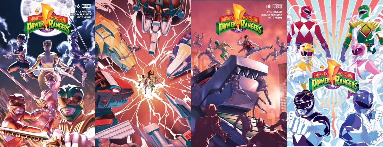 Mighty Morphin Power Rangers Lot 6 7 8 Annual 2016