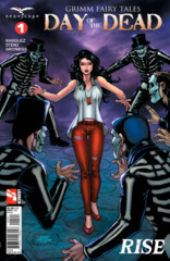 GFT Day Of The Dead #1 (Of 6) Cover B Salonga