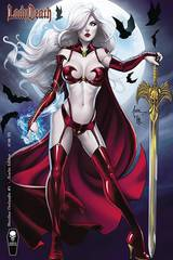 Lady Death Merciless Onslaught #1 Tucci Scarlet Var Cover