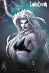 Lady Death Merciless Onslaught #1 Turner Premium Foil Cover