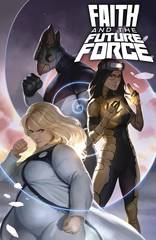 Faith And The Future Force #2 Cover A Djurdjevic