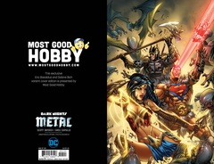 Dark Nights Metal #1 MGH Exclusive EBAS Virgin Variant