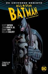 All Star Batman Vol 1 My Own Worst Enemy TPB (Rebirth)