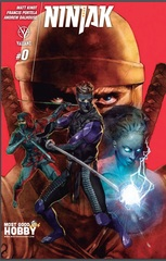 Ninjak #0 Most Good Exclusive Renato Guedes Variant