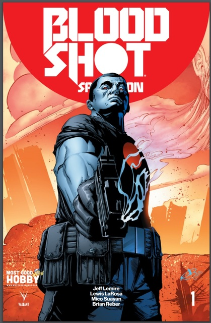 Bloodshot Salvation #1 MGH Exclusive Jen Broomall Variant