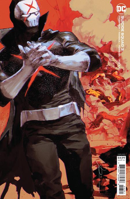 Suicide Squad Vol 7 #3 Cover B Gerald Parel Variant
