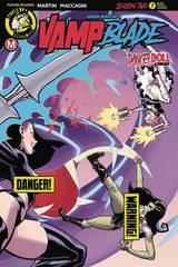 Vampblade Season Two #7 Cover B Winston Young Risque