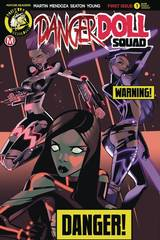 Danger Doll Squad #1 Cover B Celor Risque