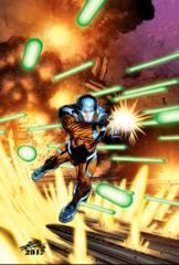 X-O Manowar #46 Cover C 1:20 Variant Chriscross
