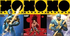 X-O Manowar (2017) Lot 1 2 3 Most Good Exclusive Set
