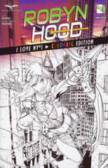 GFT Robyn Hood I Love NY #1 Coloring Edition Exclusive LTD 1000