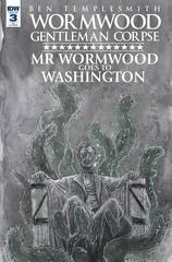 Wormwood Goes To Washington #3 (Of 3) Cover B Templesmith
