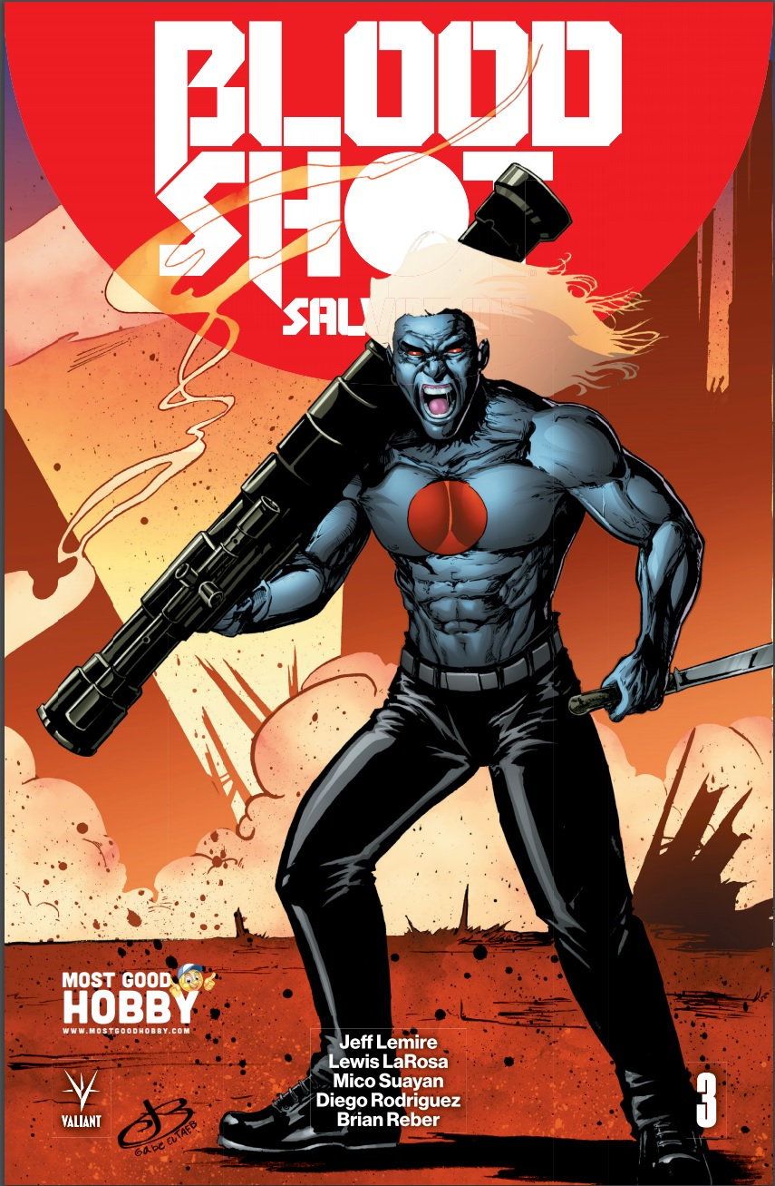 Bloodshot Salvation #3 Most Good Exclusive Jen Broomall Variant