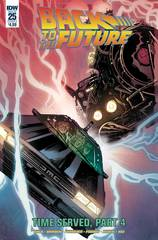Back To The Future #25 Cover A Ferreira