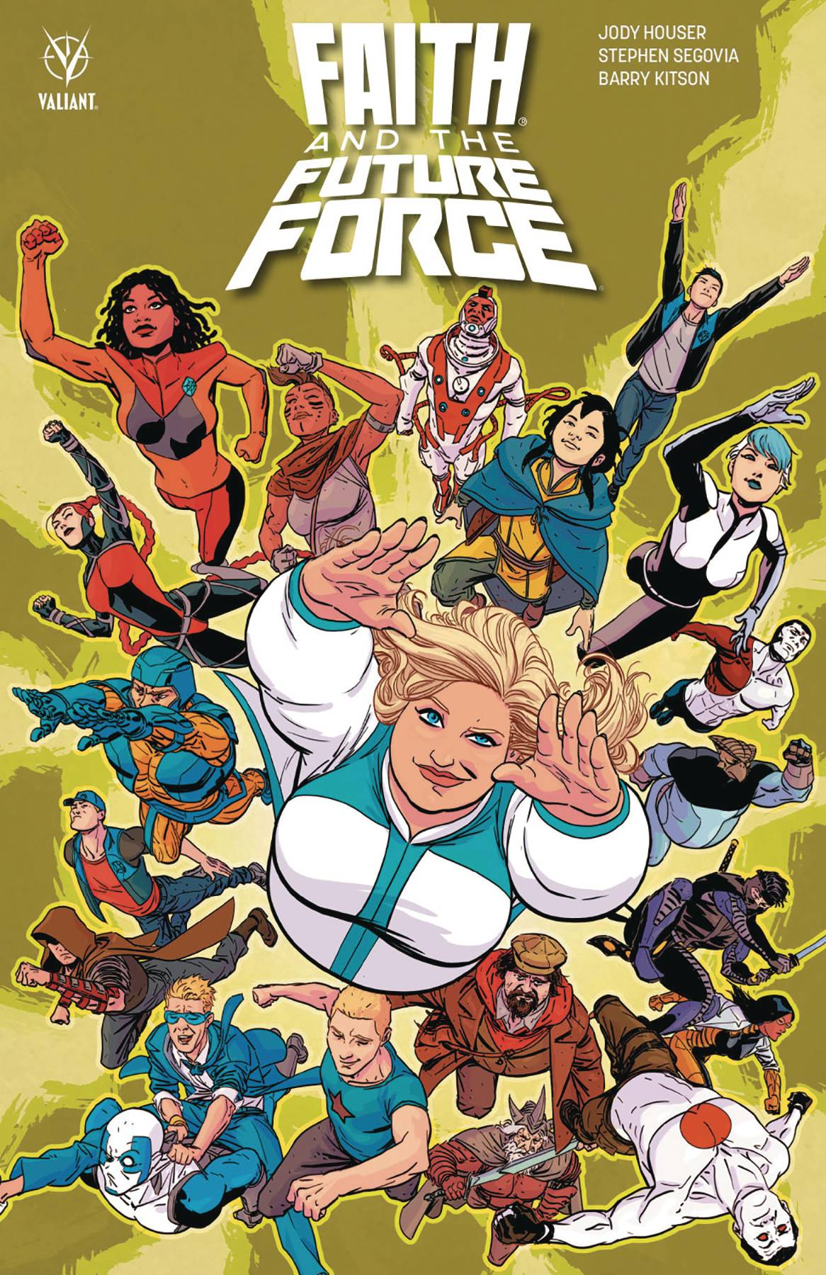 Faith And The Future Force TPB