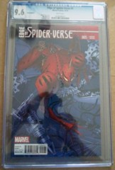 Edge Of Spider-Verse #5 1:25 Land Variant CGC 9.6