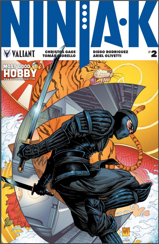 Ninja-K #2 Most Good Exclusive Mike Krome Variant