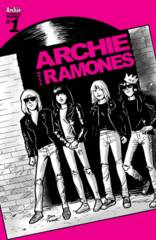 Archie Meets Ramones One Shot Cover D Variant Dan Parent