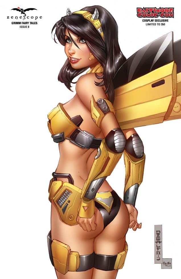 Grimm Fairy Tales #8 Cover H Mike DeBalfo Baltimore CC Cosplay Exclusive LTD 350