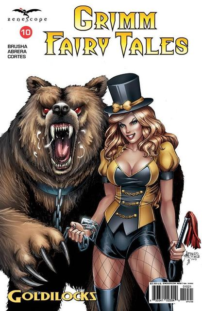 Grimm Fairy Tales #10 Cover B Reyes - Comics » Zenescope