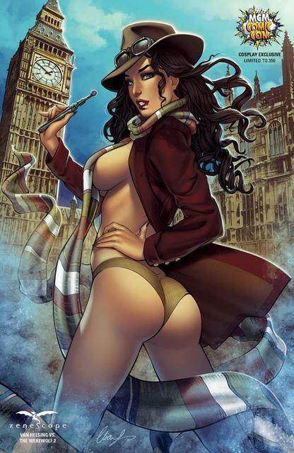Van Helsing Vs The Werewolf #2 Cover F London MCM Cosplay Exclusive Chatzoudis