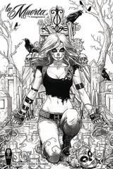 La Muerta Vengeance #1 Raw S&N Ed
