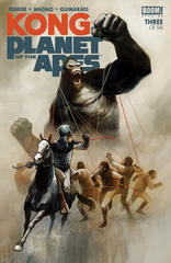 Kong On Planet Of Apes #3
