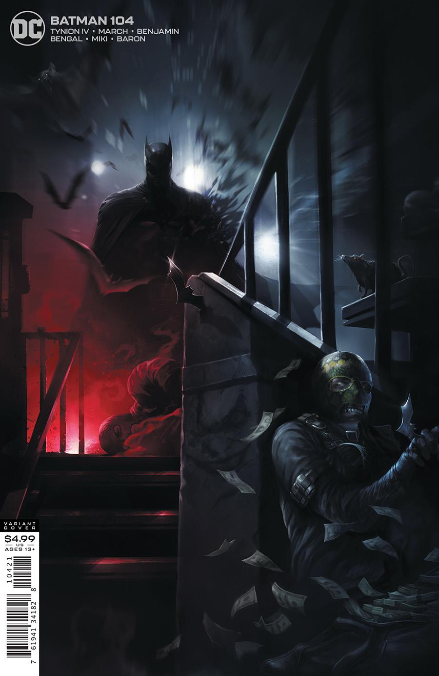 Batman #104 Cover B Francesco Mattina Variant