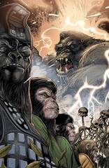 Kong On Planet Of Apes #4 Connecting Magno Variant