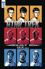 Star Trek Boldly Go #17 Cover A To