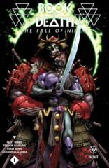 Book Of Death Fall Of Ninjak #1 Cover B Mann (One Shot)