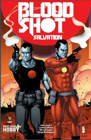 Bloodshot Salvation #5 MGH Exclusive Jen Broomall Variant