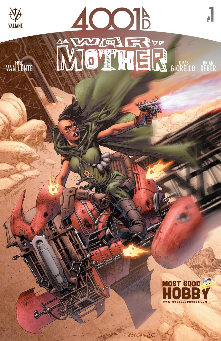 4001 AD War Mother #1 Most Good Exclusive Giorello Variant (4001 AD)