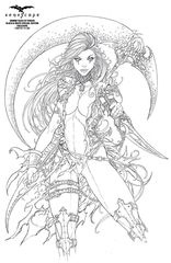 Grimm Tales Of Terror Black & White Special Edition Cover D Jamie Tyndall Zenescope Exclusive LTD 250