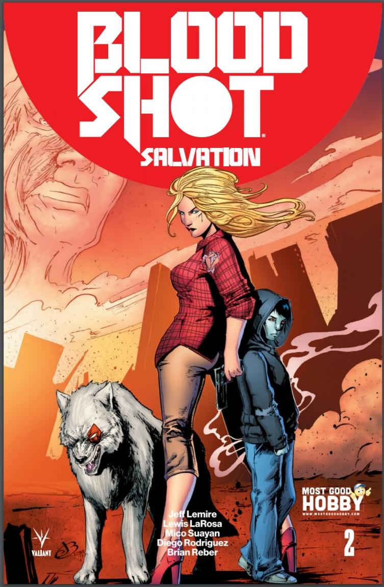 Bloodshot Salvation #2 Most Good Exclusive Jen Broomall Variant