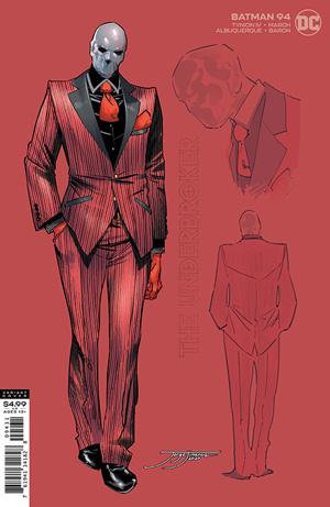 Batman Vol 3 #94 Cover C 1:25 Jorge Jimenez Underbroker Variant