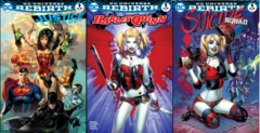 Justice League Harley Quinn Suicide Squad MGH Exclusive EBAS Color Set