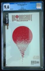 Bloodshot Reborn #1 Gold Variant CGC 9.6