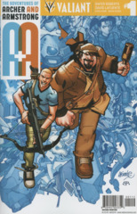 A&A: Archer & Armstrong #1 2nd Printing