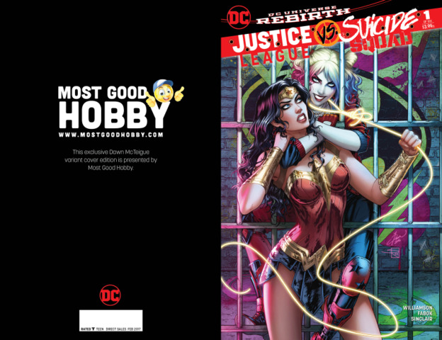 Justice League vs Suicide Squad #1 (Of 6) Most Good Exclusive Dawn McTeigue Variant