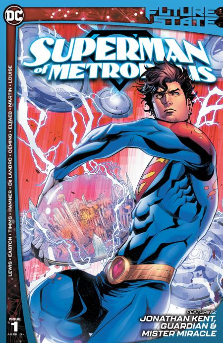 Future State Superman Of Metropolis #1 (Of 2) Cover A John Timms