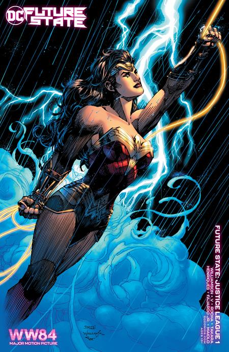 Future State Justice League #1 (Of 2) Cover C Wonder Woman 1984 Jim Lee Variant