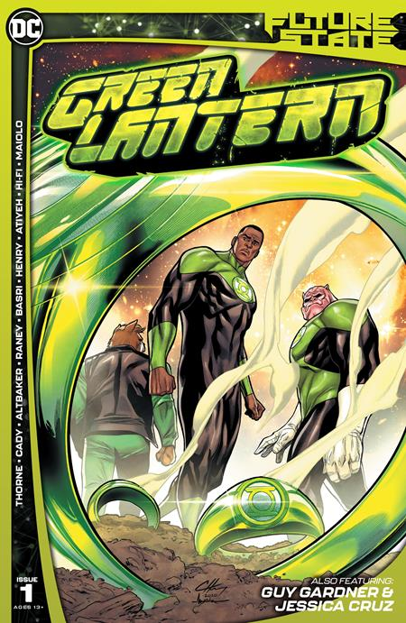 Future State Green Lantern #1 (Of 2) Cover A Clayton Henry