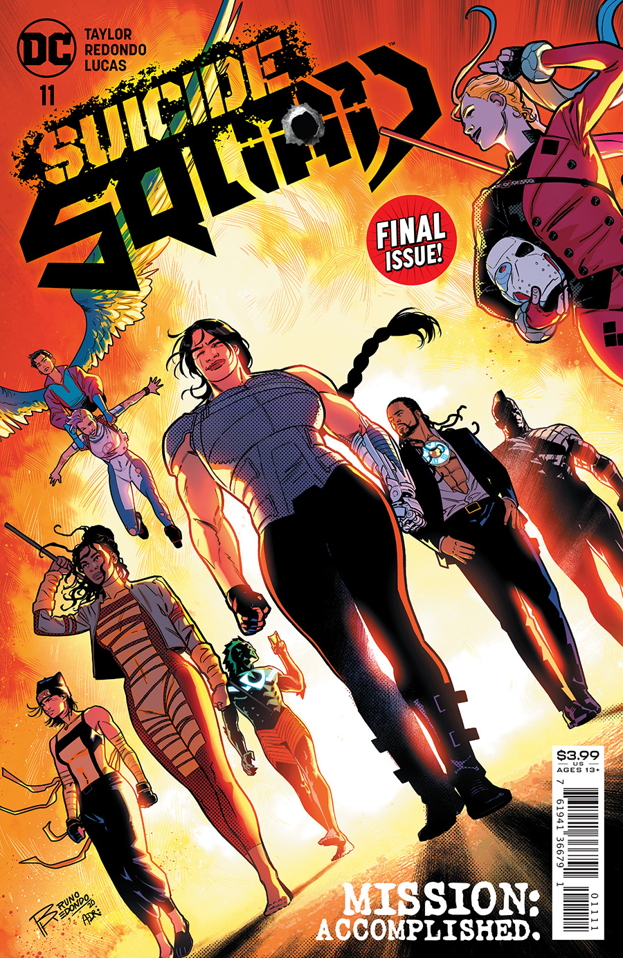 Suicide Squad Vol 6 #11 Cover A Bruno Redondo