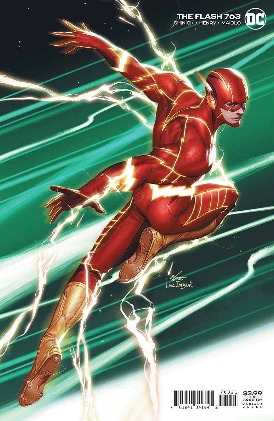 Flash Vol 1 #763 Cover B Inhyuk Lee Variant